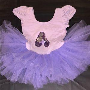Girls tutu outfit. Purple size medium